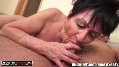 Бабушка заменяет внуку девушку, организовывая с ним шокирующий инцест